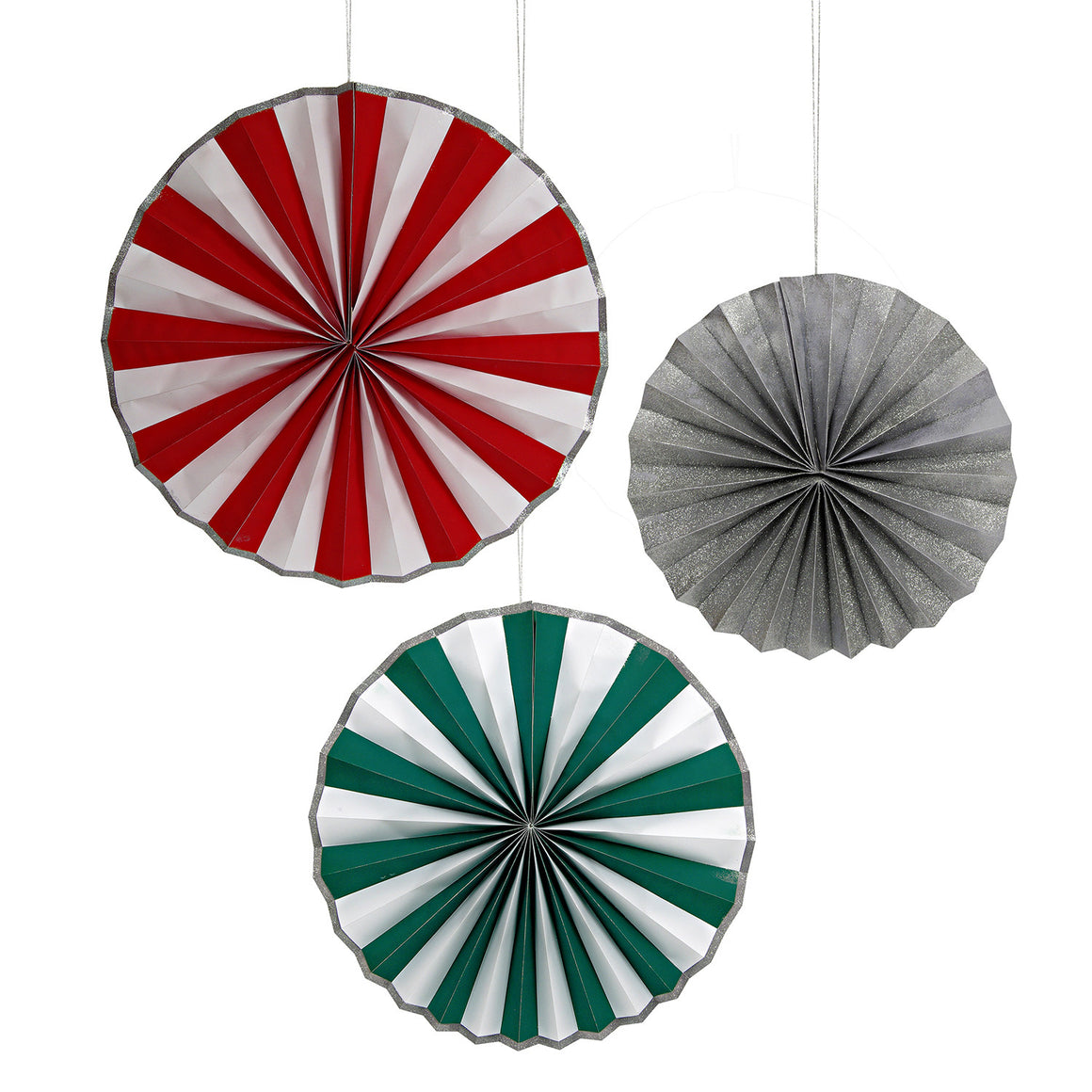 Be Jolly 3 Giant Pinwheel Decorations