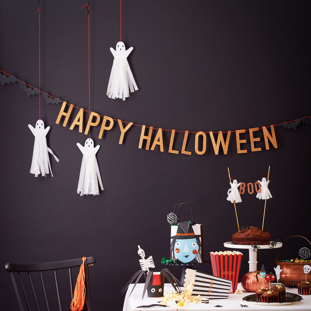 Halloween Copper Garland
