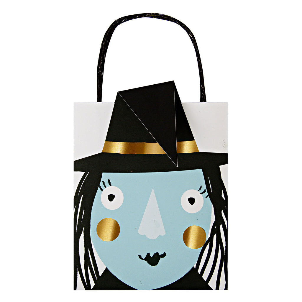 halloween, party bags, witch