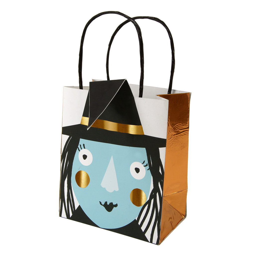 halloween, witch, party bags