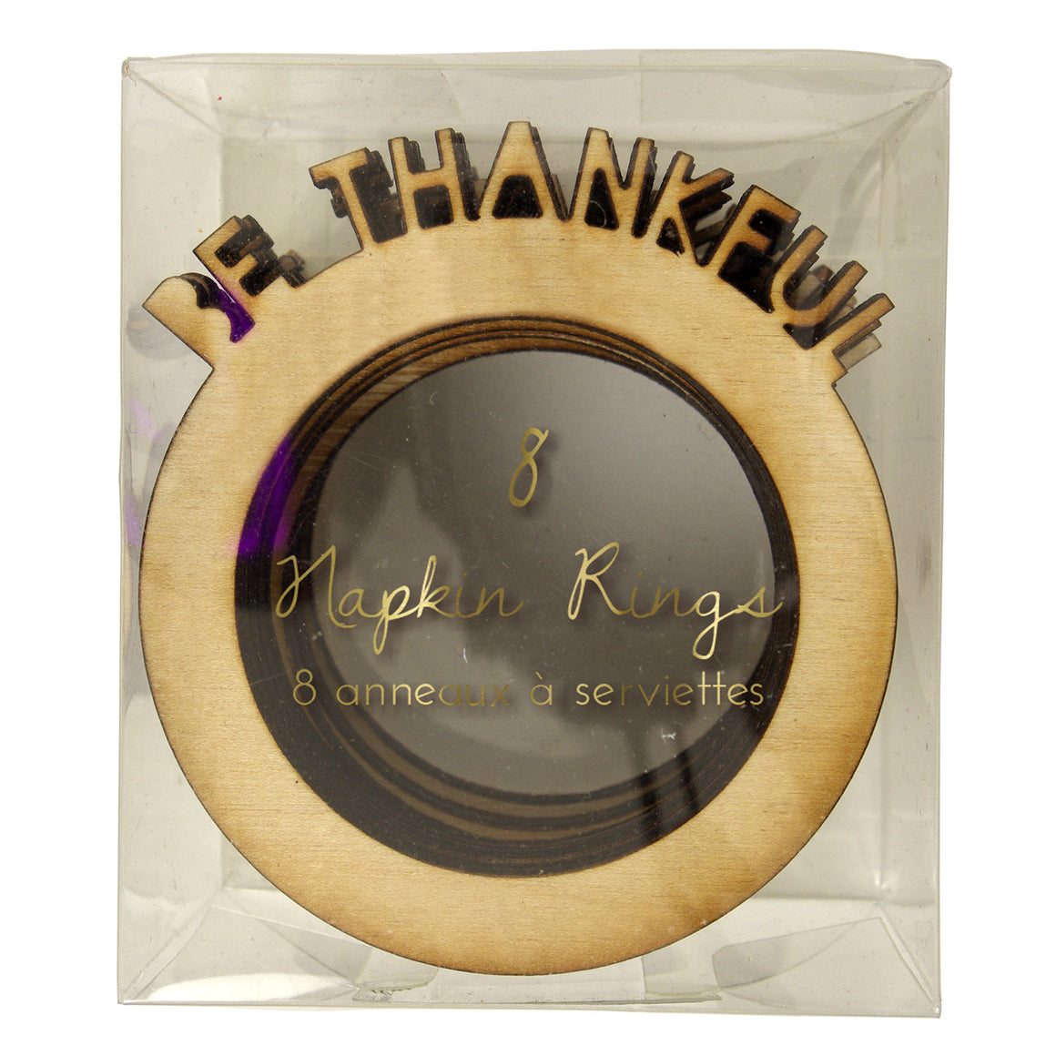 Be Thankful Napkin Ring