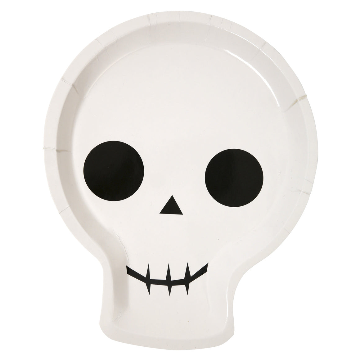 halloween, skeleton, plates