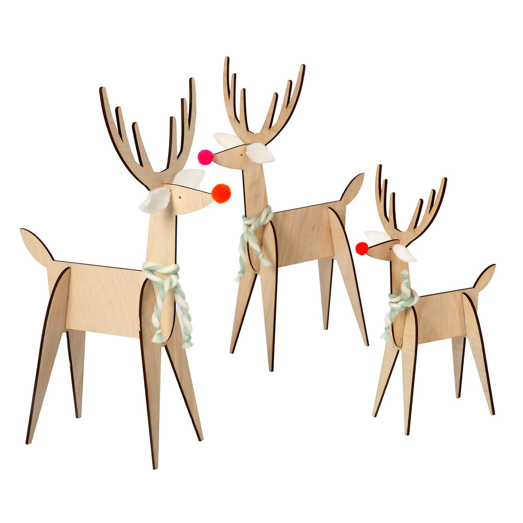 reindeer, christmas, decorations