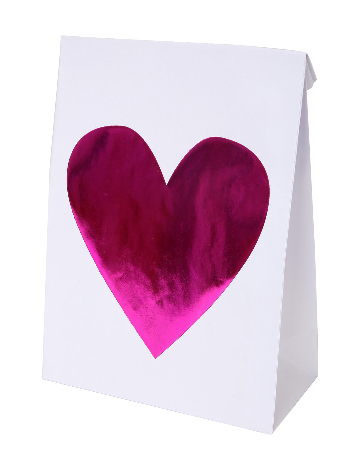 Pink Hearts 6 Treat Bags