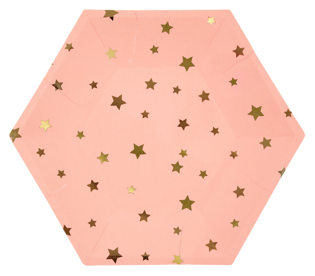 Jazzy Star Star 8 Large Plates