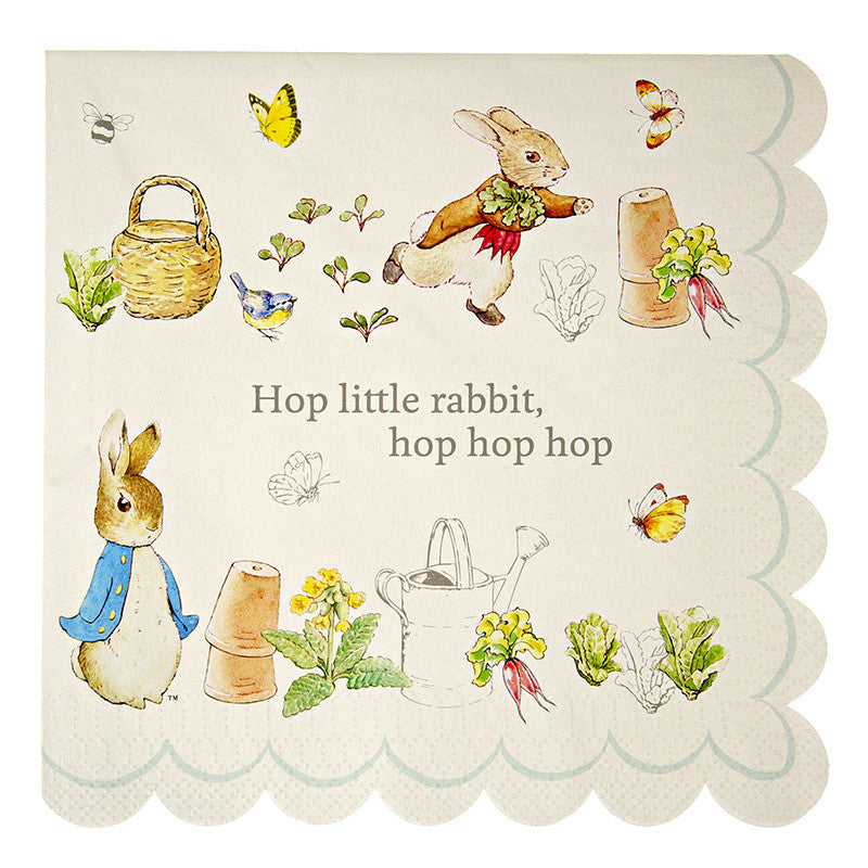 Peter Rabbit Large 20 Napkins