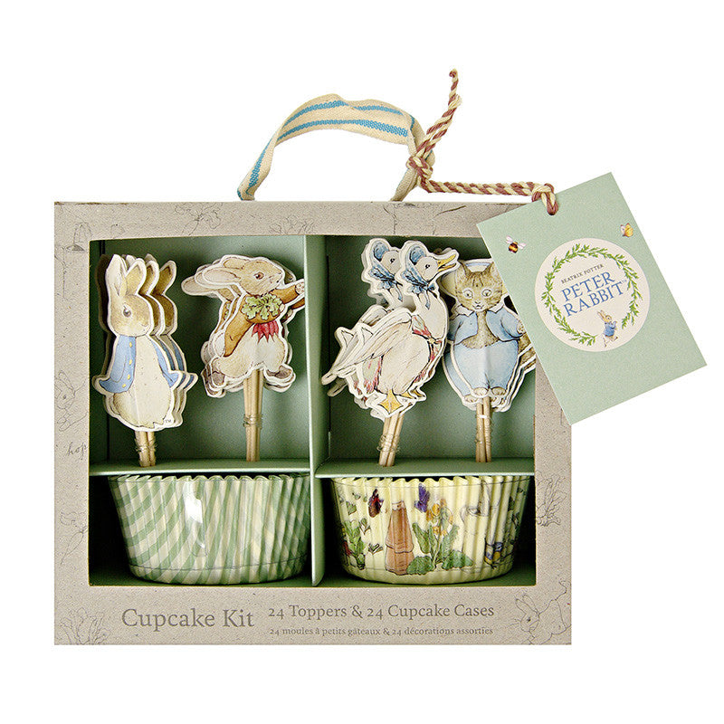 Peter Rabbit and Friends 24 Cupcake Kit