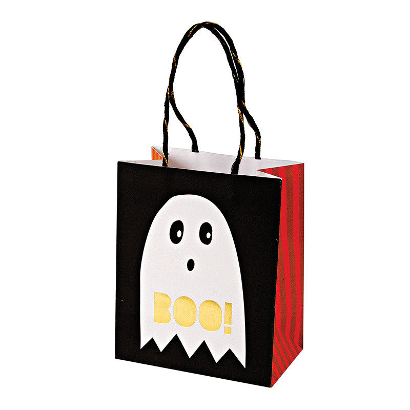 halloween, party bags, ghost, skeleton