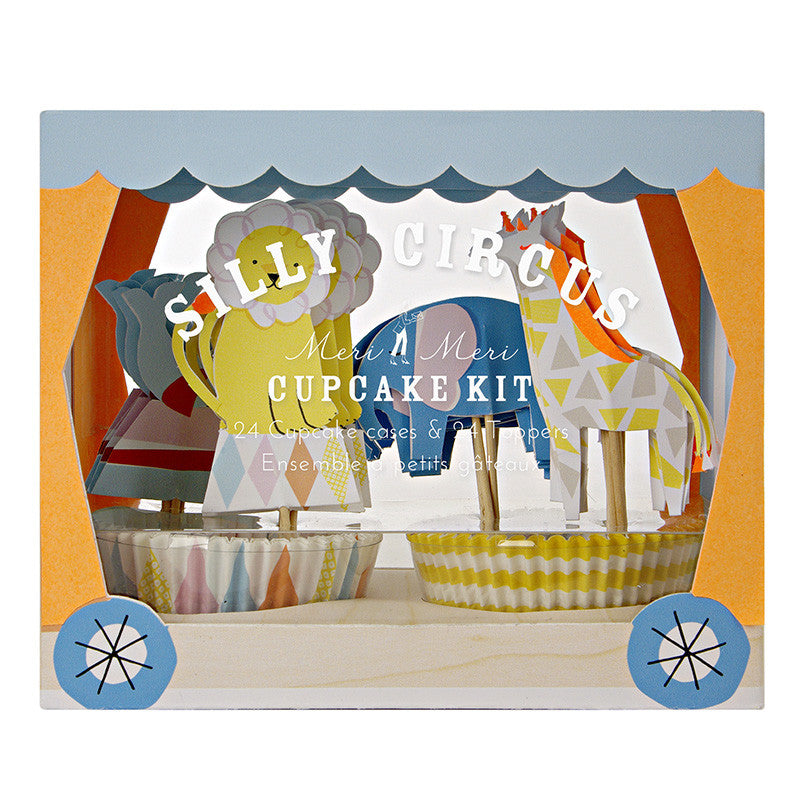 Silly Circus 24 Cupcakes Kit