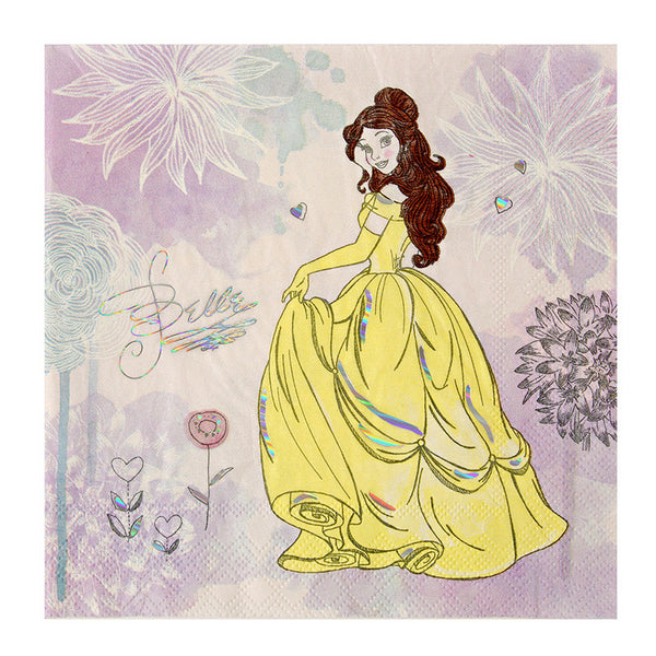 Disney Princess 16 Large Napkins