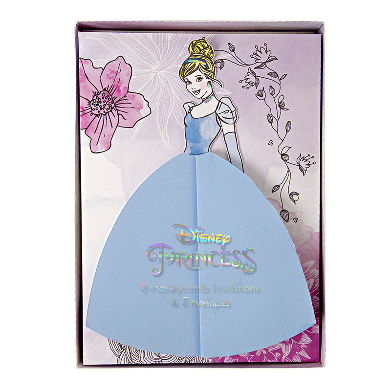 Disney Princess 8 Invitations