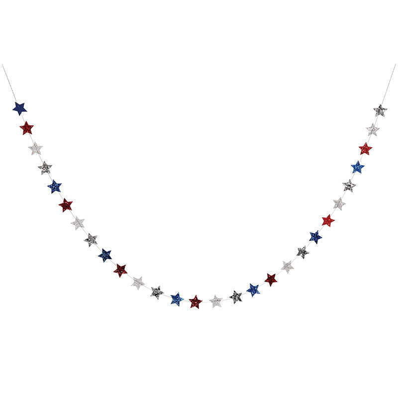 4th of July Mini Star Garland