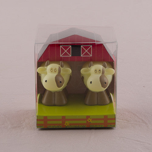 2 Miniature Cow Candles