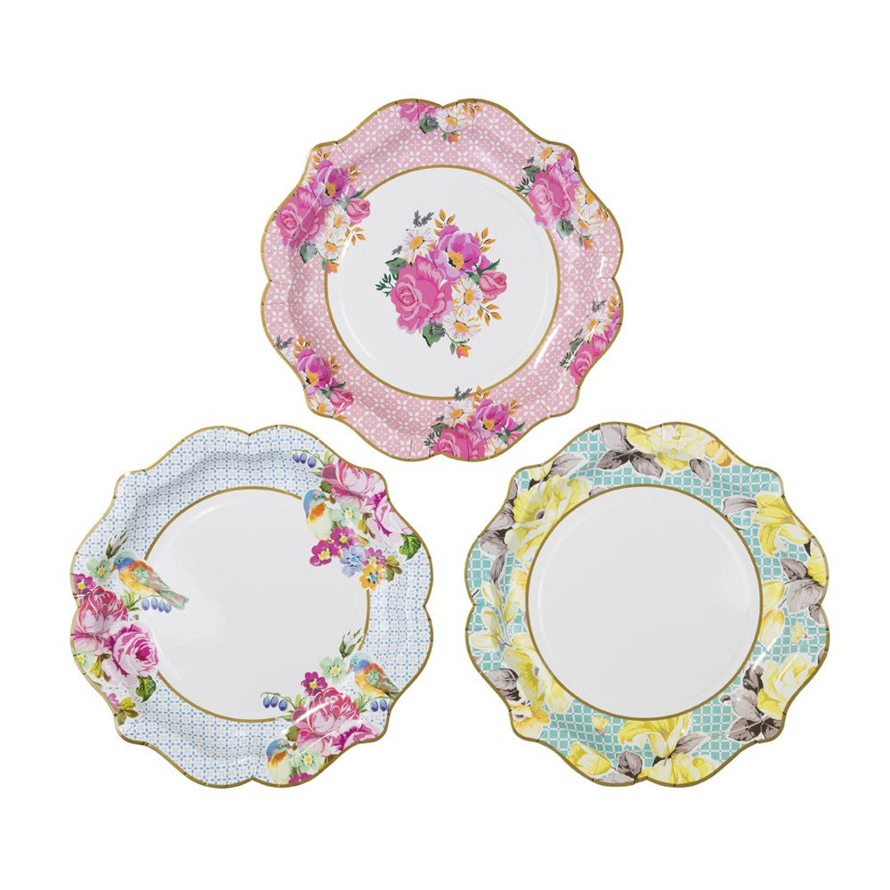 Scrumptious Tea Party 12 Plates