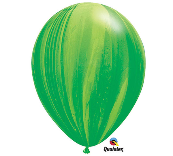 "Marble Green & Light Green 11"" Balloon"