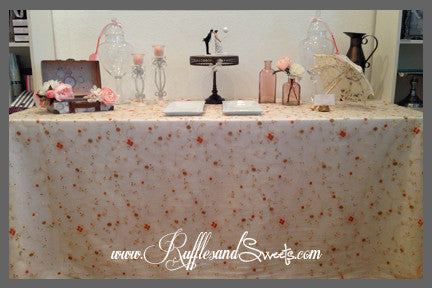 Autumn Flowers Tablecloth