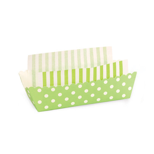 8 Baking Trays - Apple Green