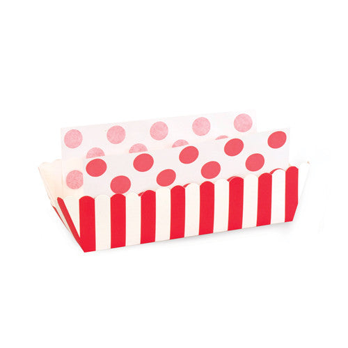 8 Baking Trays - Red