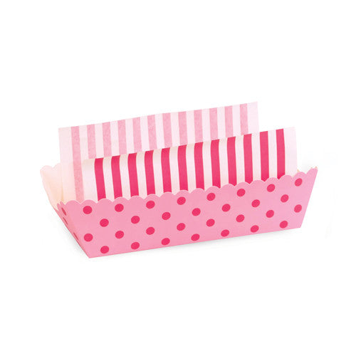 8 Baking Trays - Pink Floss
