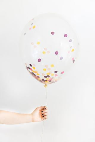 Confetti Balloon - Bargello
