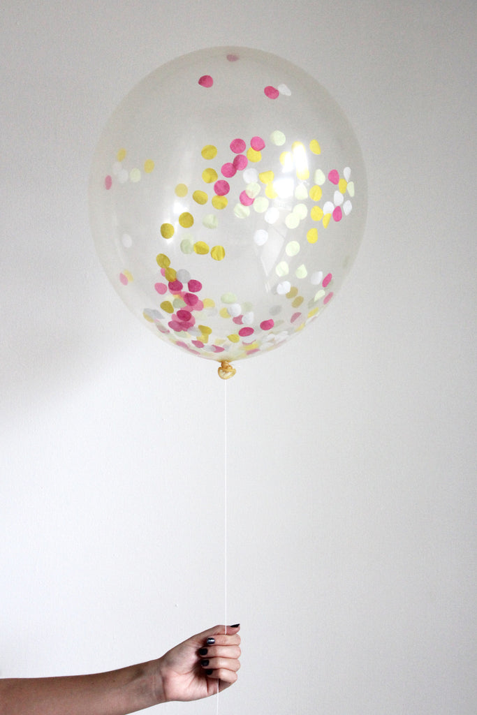 Confetti Balloon - Boardwalk