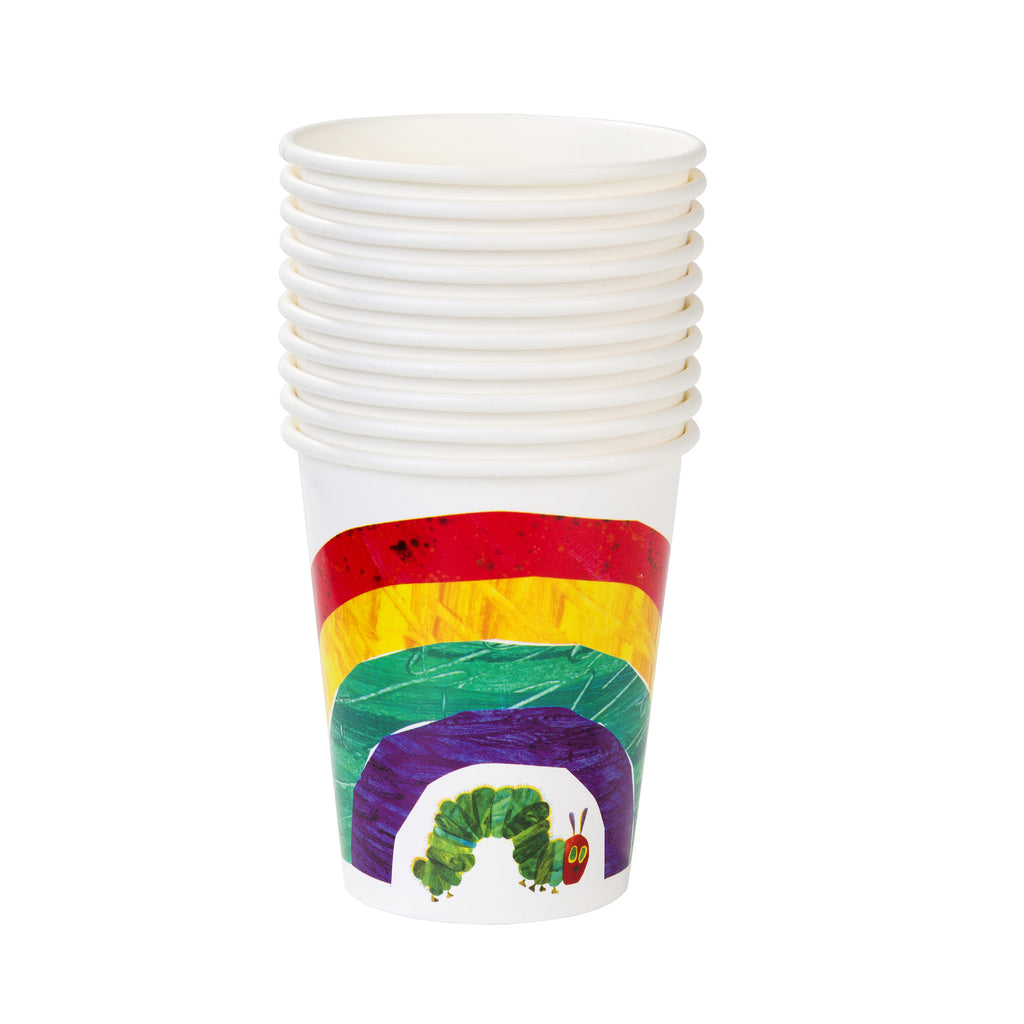 The Very Hungry Caterpillar 12 Paper Cups