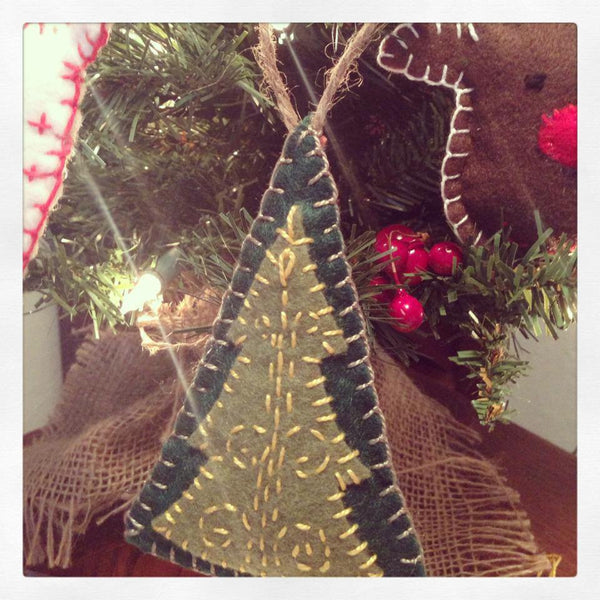 Christmas Trees Handmade Ornament