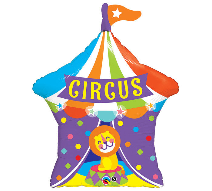 "Circus Top & Lion 36"" Balloon"