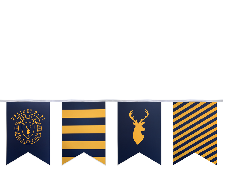 Preppy Deer Party Garland