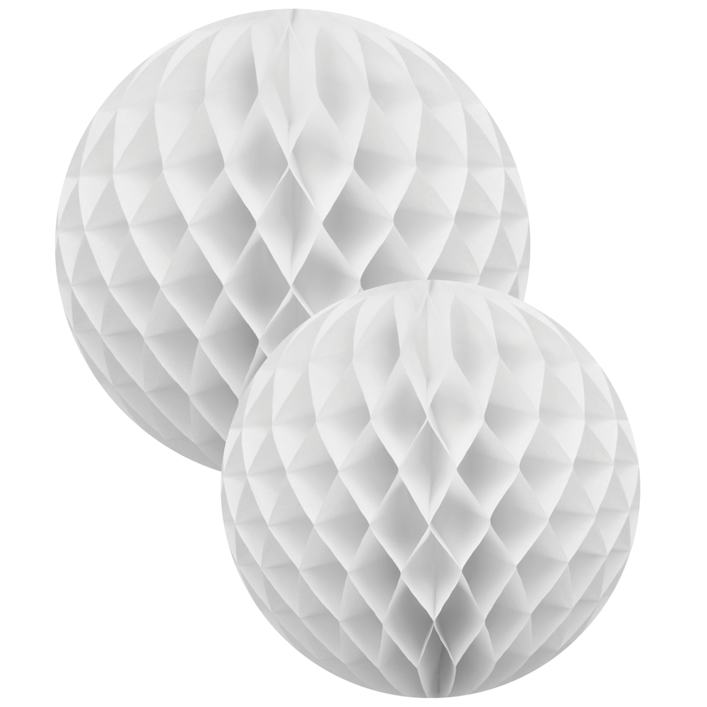 White Honeycomb 2 Ball Set