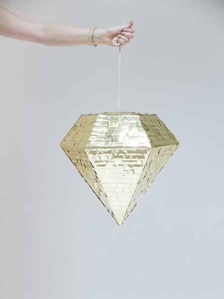 Diamond Piñata - Gold