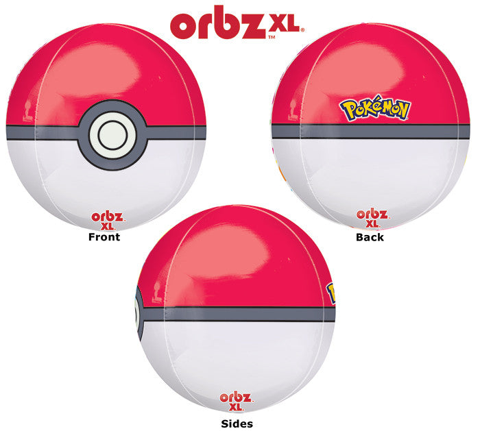 "16"" Pokeball Orbz Balloon"