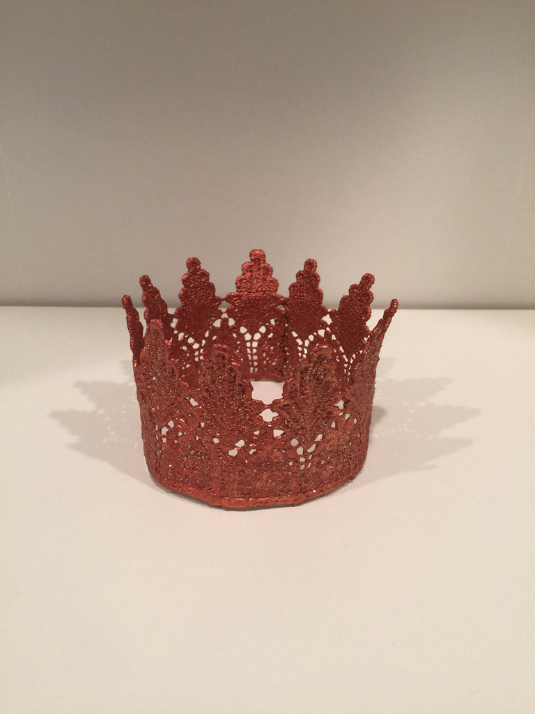 Leaves Rose Gold Medium Crowns