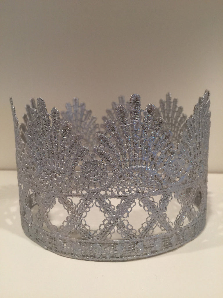 Large Silver Crown