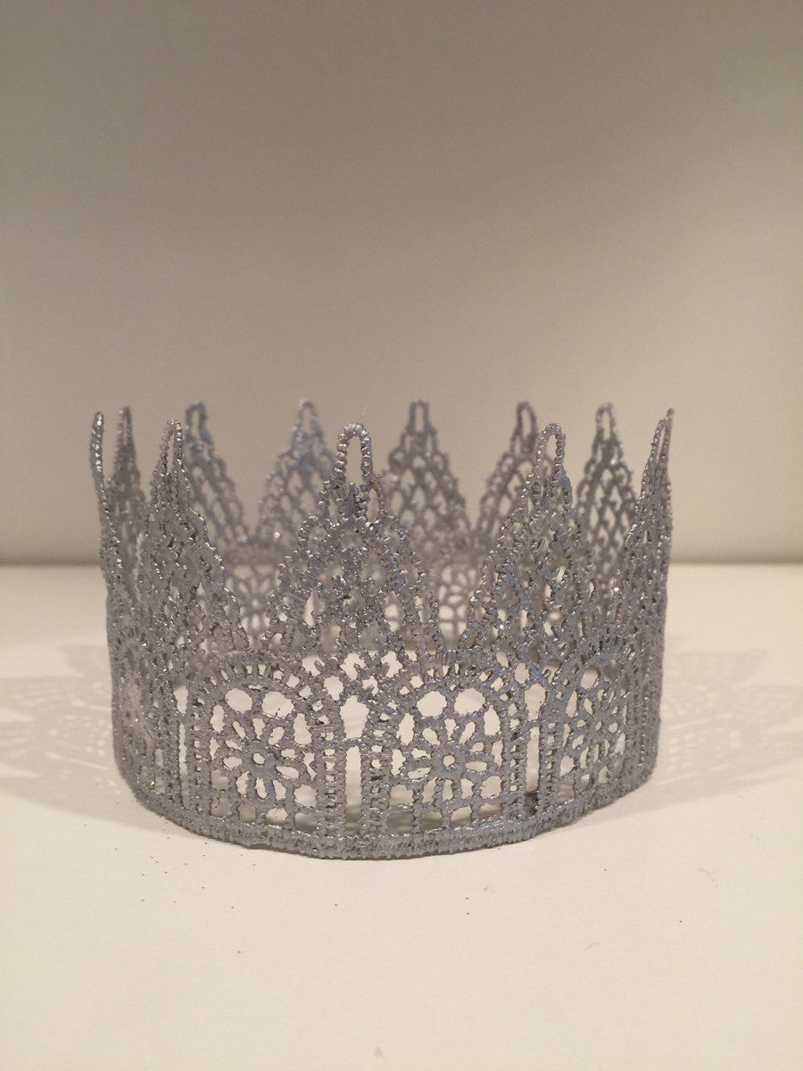 Medium Silver Crowns