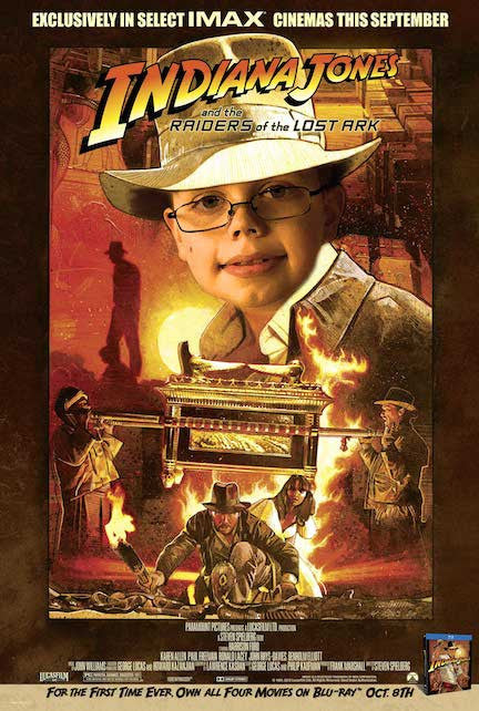 Indiana Jones Poster - Personalized