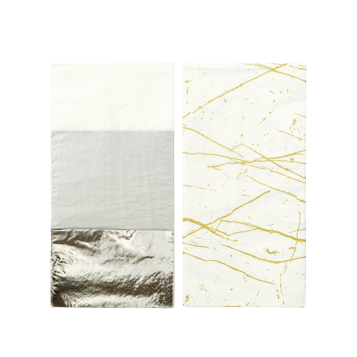 Modern Metallics Double 10 Napkins