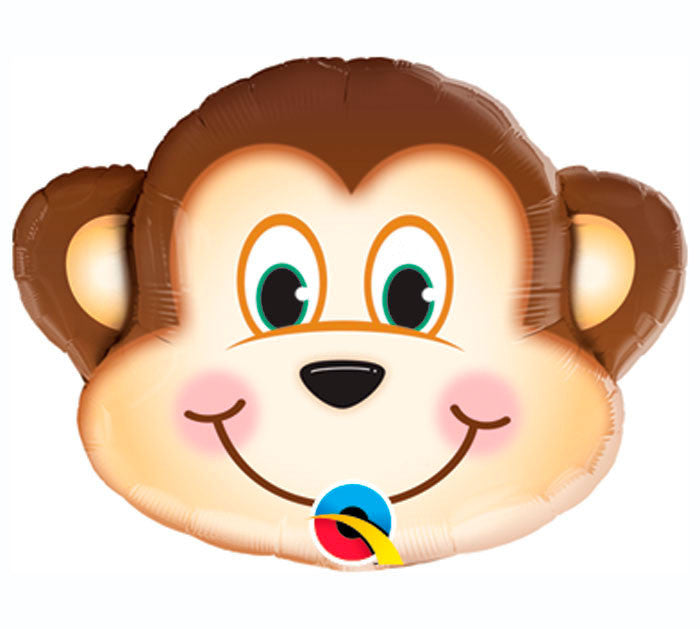 "Monkey Mini 14"" Balloon"