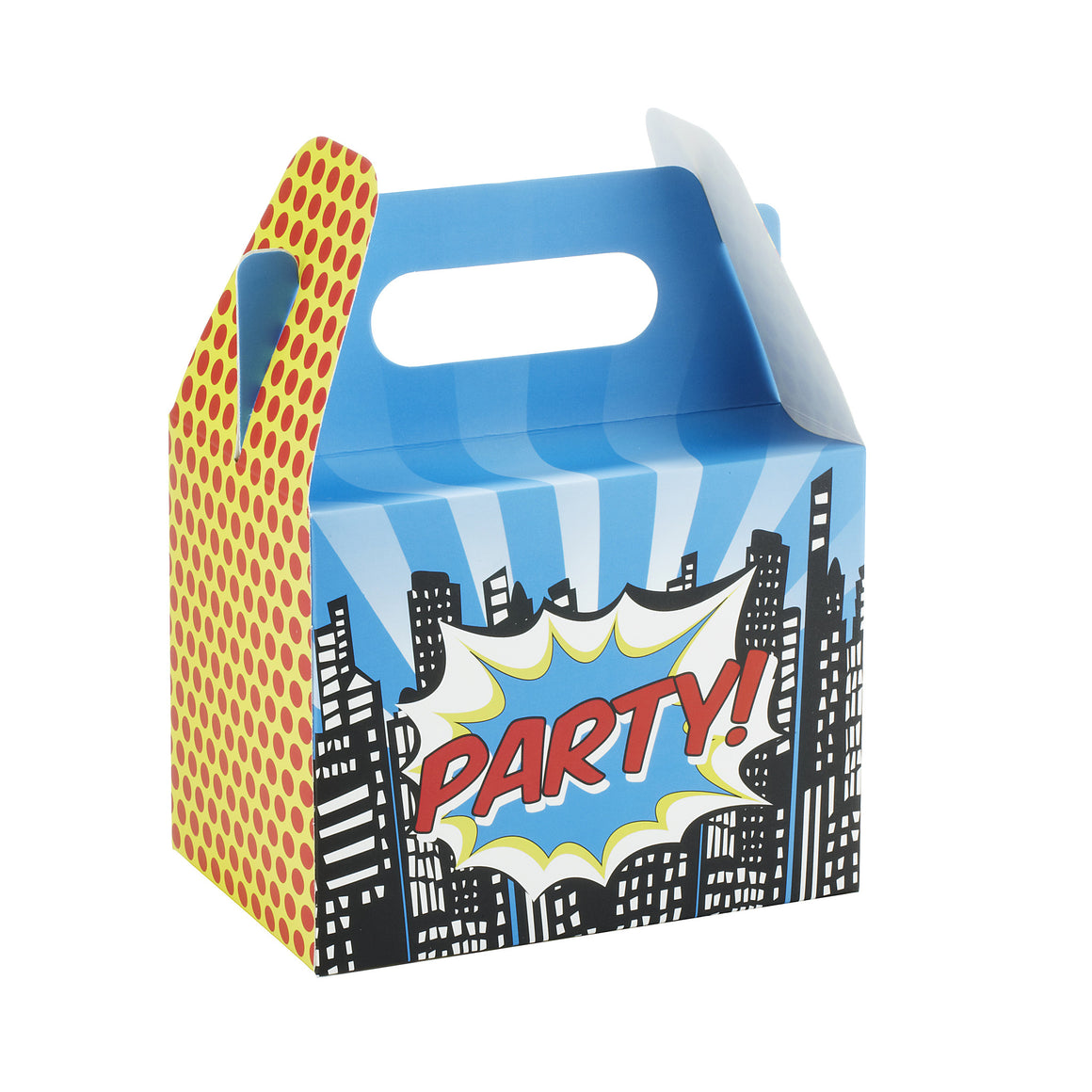 Pop Art Superhero Party - 5 Party Boxes