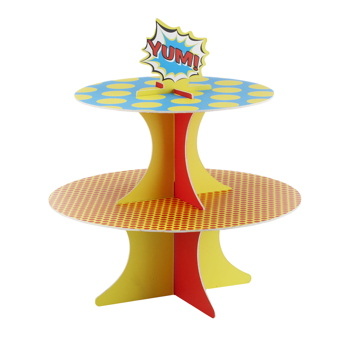 Pop Art Superhero Party - Cupcake Stand