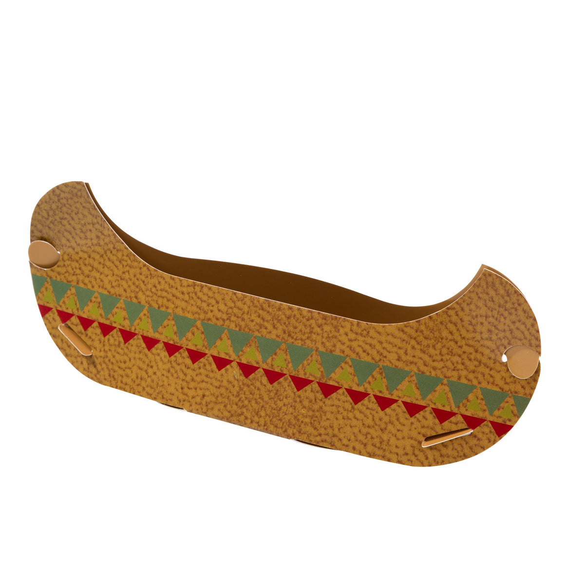 Pow Wow 6 Canoe Treat Holder