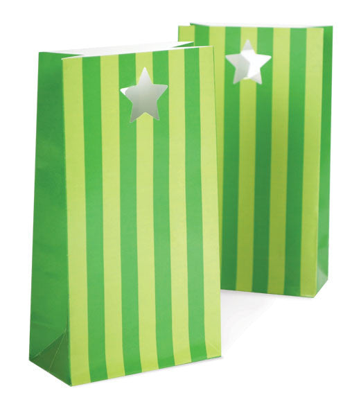 Party Bags - Apple Green