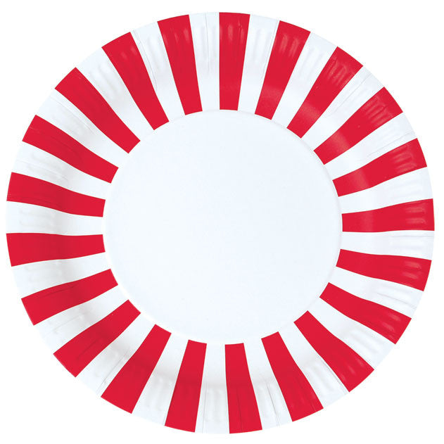 Plates - Red