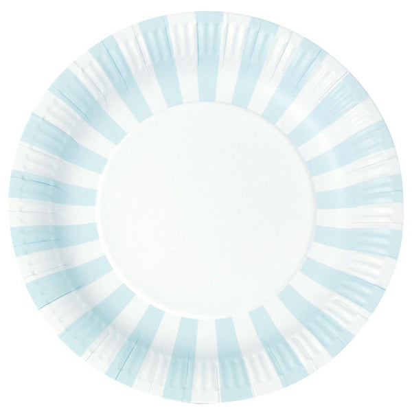 Plates - Powder Blue, baby blue, light blue