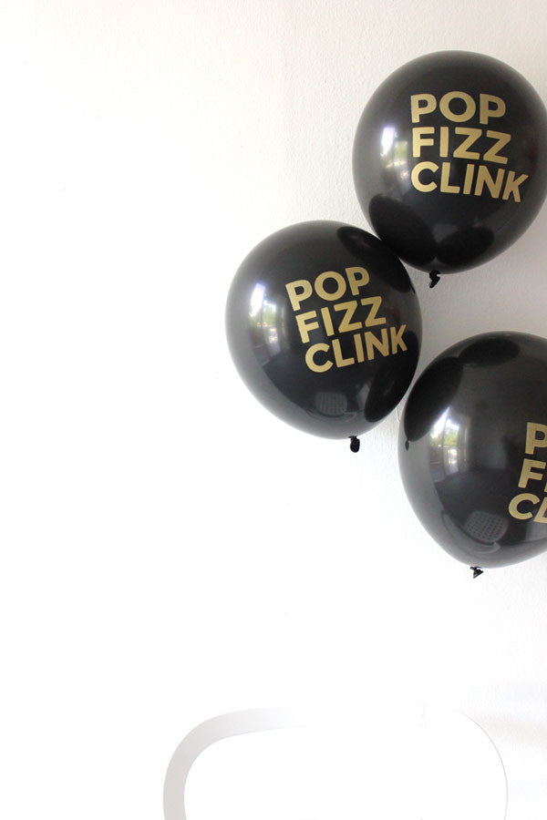 Pop Fizz Clink 3 Balloons