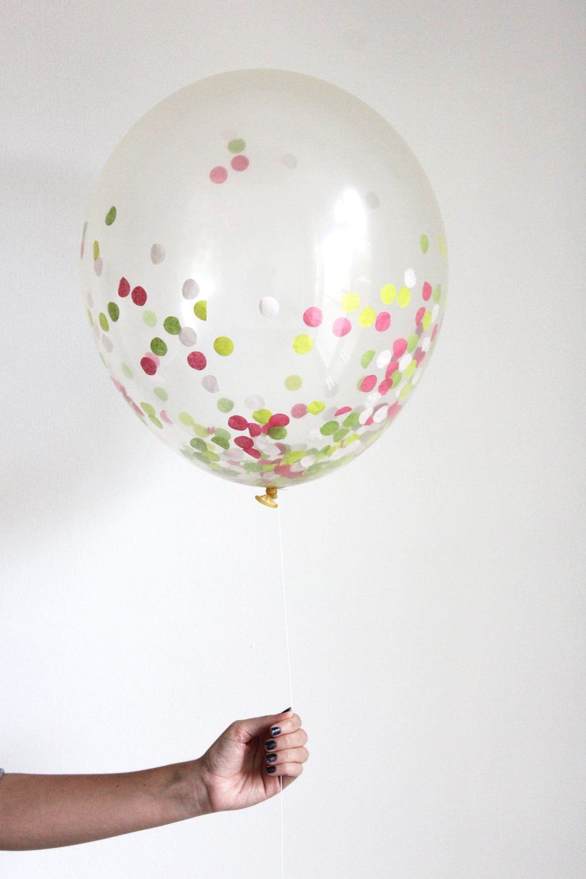 Confetti Balloon - Preppy