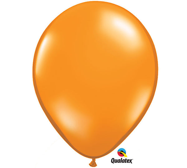 "Mandarin Orange 11"" Balloon"