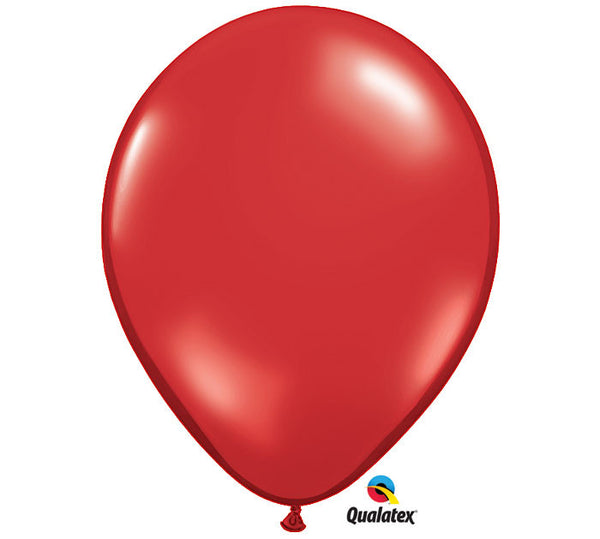 "Ruby Red 11"" Balloon"