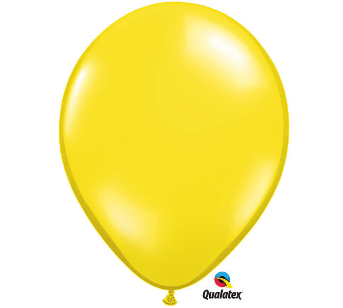 "Citrine Yellow 11"" Balloon"