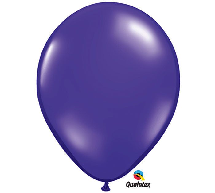 "Quartz Purple 11"" Balloon"